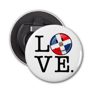 ドミニカ共和国の微笑の旗を愛して下さい 栓抜き