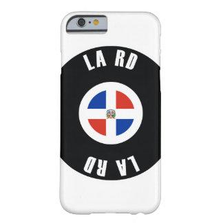 ドミニカ共和国の旗のシンプル BARELY THERE iPhone 6 ケース