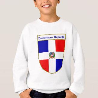 ドミニカ共和国の旗の盾 スウェットシャツ