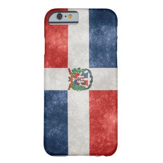 ドミニカ共和国の旗のiPhone 6/6sの電話箱 Barely There iPhone 6 ケース