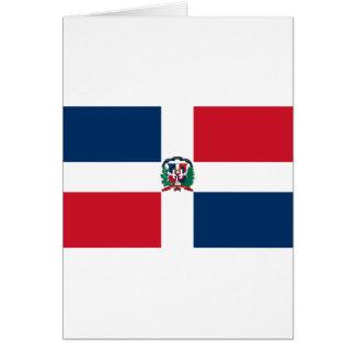 ドミニカ共和国の旗は カード