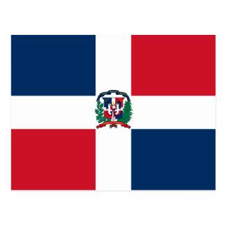 ドミニカ共和国の旗は ポストカード
