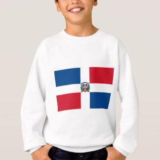 ドミニカ共和国の旗 スウェットシャツ