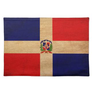 ドミニカ共和国の旗 ランチョンマット