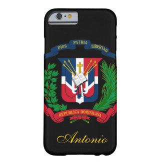 ドミニカ共和国の旗 BARELY THERE iPhone 6 ケース