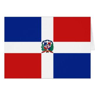 ドミニカ共和国の旗Notecard カード