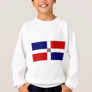 ドミニカ共和国の海軍旗 スウェットシャツ