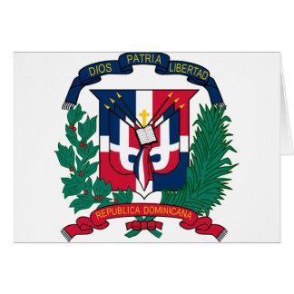 ドミニカ共和国の紋章付き外衣は カード