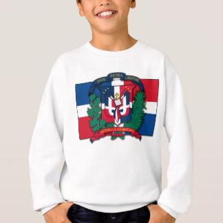 ドミニカ共和国の紋章付き外衣 スウェットシャツ