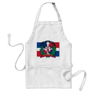 ドミニカ共和国の紋章付き外衣 スタンダードエプロン