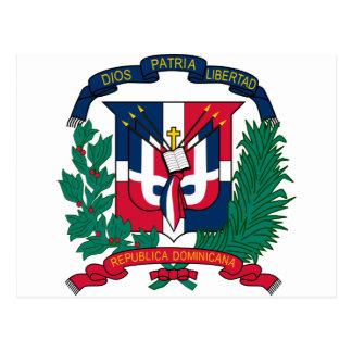 ドミニカ共和国の紋章付き外衣 ポストカード