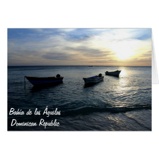 ドミニカ共和国のBahiaa de las Aguilass カード