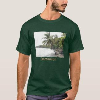 ドミニカ共和国のPalenqueのビーチ Tシャツ