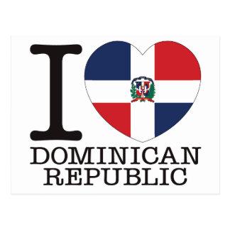 ドミニカ共和国愛v2 ポストカード