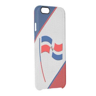 ドミニカ共和国 クリアiPhone 6/6Sケース
