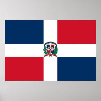ドミニカ共和国、ドミニカの海軍旗 ポスター