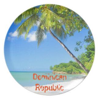 ドミニカ共和国 プレート
