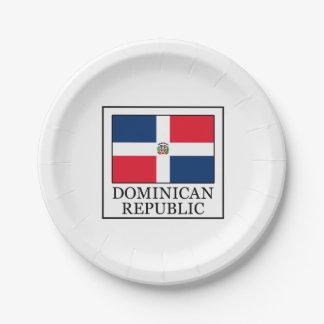 ドミニカ共和国 ペーパープレート