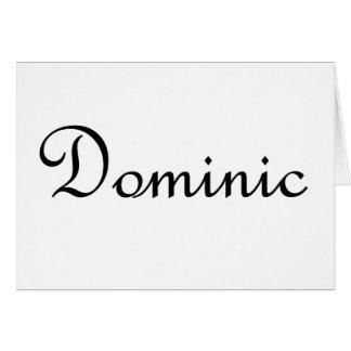 ドミニク カード