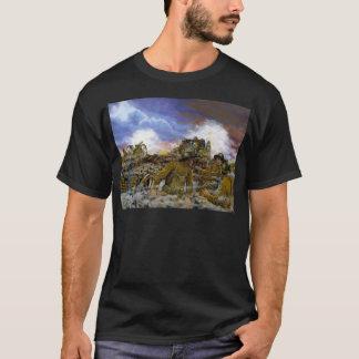 ドミニクD'Andrea著トルーマンの電池 Tシャツ