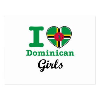 ドミニコ共和国のデザイン ポストカード
