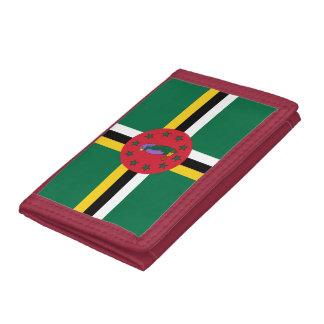 ドミニコ共和国の旗の財布