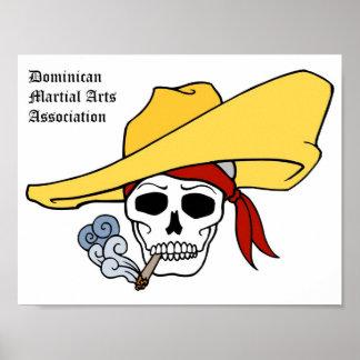 ドミニコ共和国の武道連合 ポスター