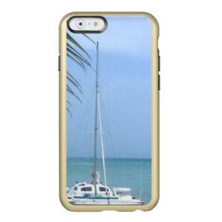 ドミニコ共和国人のビーチ INCIPIO FEATHER SHINE iPhone 6ケース