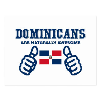 ドミニコ共和国人は自然に素晴らしいです ポストカード