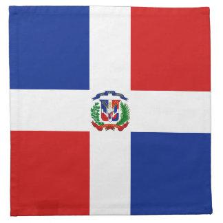 ドミニコ共和国Rep。 旗のナプキン ナプキンクロス