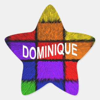 ドミニック 星シール