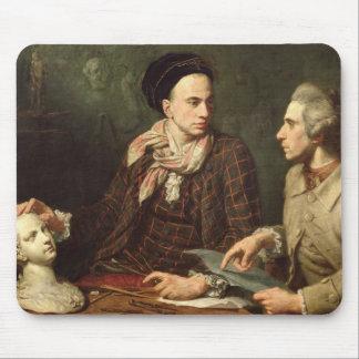 ドミニックHerment 1769年との自画像 マウスパッド