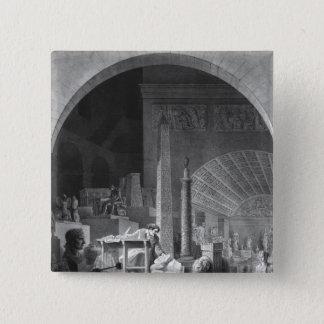 ドミニックVivant Denon 5.1cm 正方形バッジ