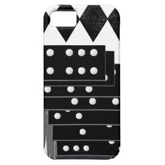 ドミノのゲームの部分及び三角形B&WのiPhoneの場合 iPhone SE/5/5s ケース