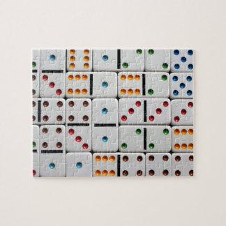 ドミノのパズル ジグソーパズル
