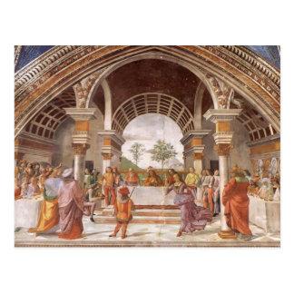 ドメニコ・ギルランダイオ: Herodの宴会 ポストカード
