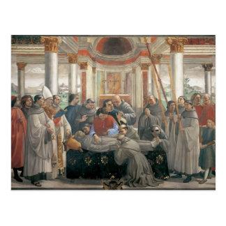 ドメニコ・ギルランダイオ: St Francisの死 ポストカード