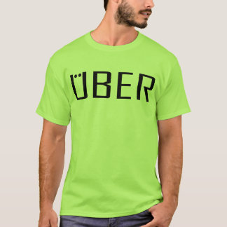 ドライブのためのいろいろな色のUberのギアのTシャツ Tシャツ