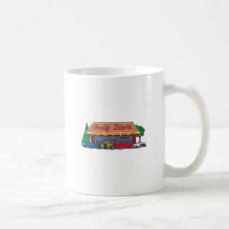 ドライブ・イン場面 コーヒーマグカップ