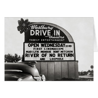 ドライブ・インTheater 1954年 カード