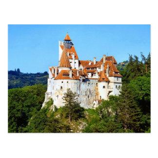 ドラキュラの城、ぬか、トランシルバニア ポストカード