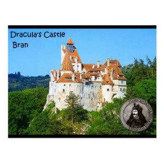 ドラキュラの城、ぬか、Transylvannia ポストカード