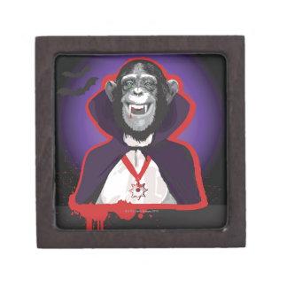 ドラキュラの衣裳のチンパンジー ギフトボックス