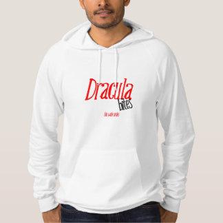 ドラキュラはフード付きスウェットシャツをかみます パーカ