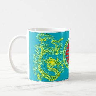 ドラゴンおよびフェニックスの中国人の芸術 コーヒーマグカップ