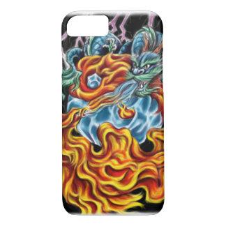 ドラゴンおよびフェニックスのiPhone 7の場合 iPhone 8/7ケース
