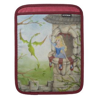 ドラゴンおよびプリンセスのiPadの袖 iPadスリーブ