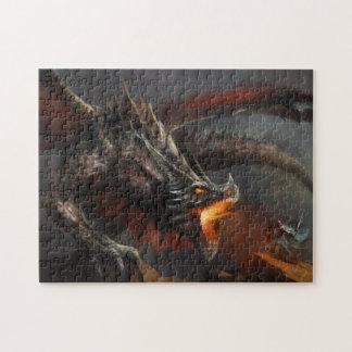 ドラゴンおよび騎士パズル ジグソーパズル