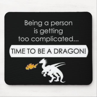 ドラゴンがあって下さい マウスパッド