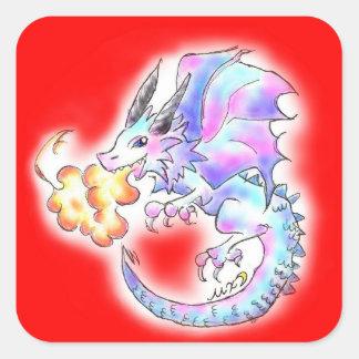 ドラゴンちゃん スクエアシール